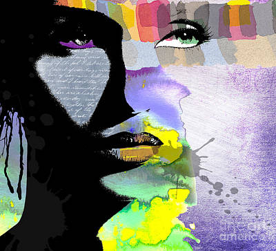 Vibrant Digital Art - Spirit by Ramneek Narang