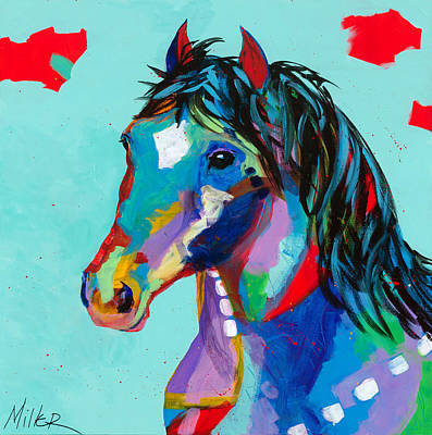 Spirited Print by Tracy Miller