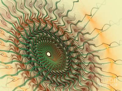 Apophysis Mixed Media - Spiritual Journey by Deborah Benoit