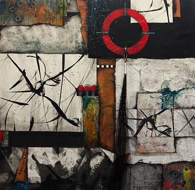 Strip Mixed Media - Spiritual Knowing  by Laura Lein-Svencner
