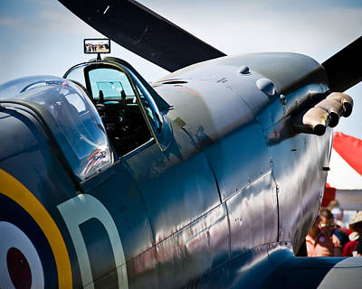 Spitfire Print by Eric Miller