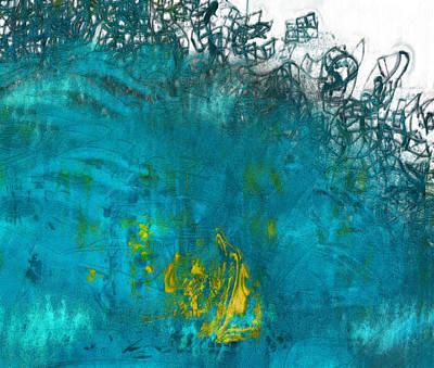 Digital Abstract Art Painting - Splash by Jack Zulli
