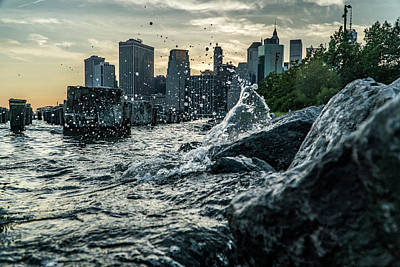 Library Photograph - Splash by Johnny Lam