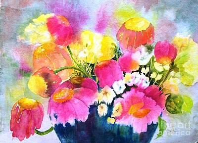 Maryann Painting - Splash Of Color by Maryann Schigur