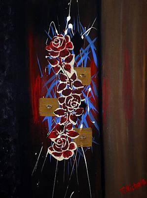 Splash Of Roses Original by Teressa Nichole