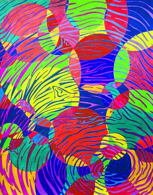 Tornado Drawing - Splashing Through Color by Megan Howard