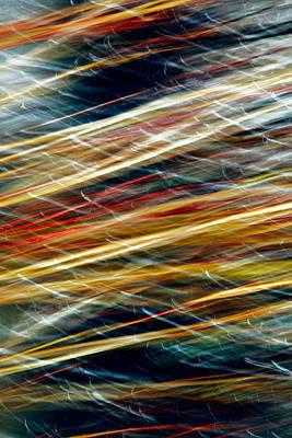 Abstract Movement Photograph - Splendido by Todd Klassy
