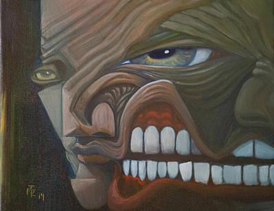 Split Personality Original by Mark Zeilman