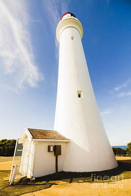 Split Point Lighthouse Print by Jorgo Photography - Wall Art Gallery