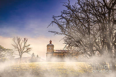 Spooky Old Church Print by Jorgo Photography - Wall Art Gallery