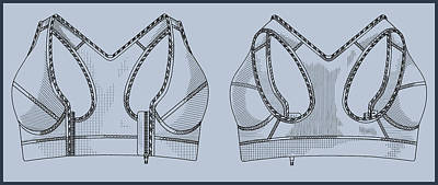 Inventor Painting - Sports Bra by Inventor Andre Zagame
