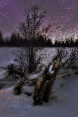 Sprague Lake Winter Dream Print by Ellen Heaverlo