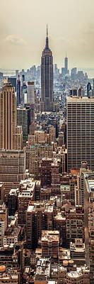 Vertical Photograph - Sprawling Urban Jungle by Az Jackson