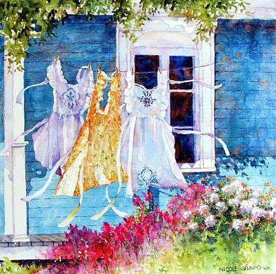 Spring Aprons Original by Nicole Gelinas