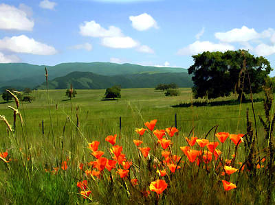 Spring At Gainey Ranch Print by Kurt Van Wagner