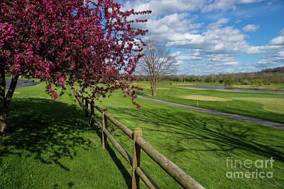 Spring At Rivercut Print by Jennifer White