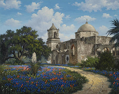 Kyle Wood Painting - Spring At San Jose by Kyle Wood