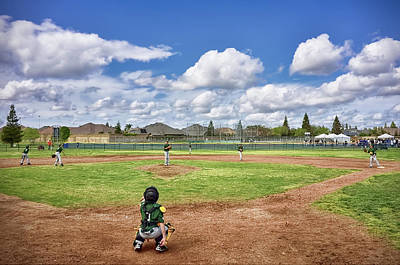 Cal Ripken Photograph - Spring Baseball Warm-up  by Steven Clark