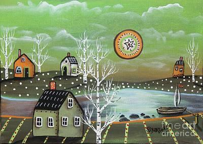 Spring Birches Original by Karla Gerard