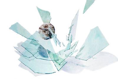 Softball Painting - Spring Break by Maryann Boysen