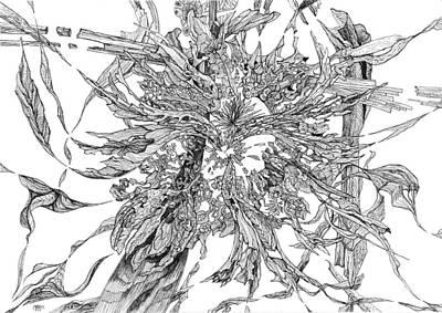 Joyful Drawing - Spring Burst by Charles Cater