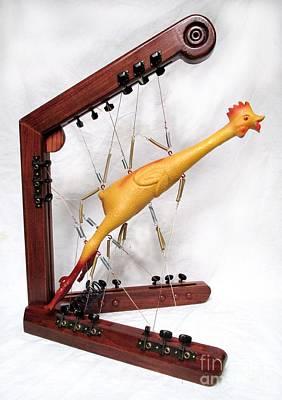 Czappa Sculpture - Spring Chicken by Bill Czappa