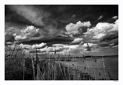 Spring Clouds Over Iken Print by Lee Thornberry