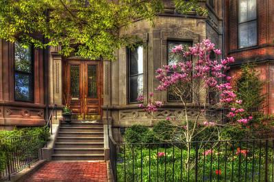 Spring Scenes Photograph - Spring In Boston - Back Bay by Joann Vitali