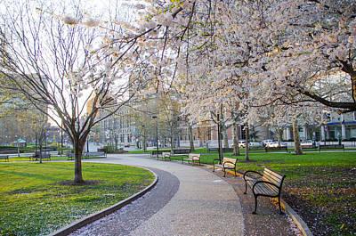Philadelphia Photograph - Spring In Center City Philadelphia by Bill Cannon