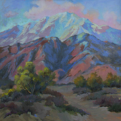 Verbena Painting - Spring In The Mountains by Diane McClary
