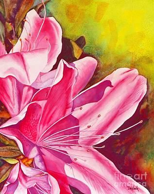 Spring Into Pink Print by Joe DeKleva