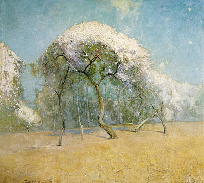Painting - Spring Landscape by Emil Carlsen