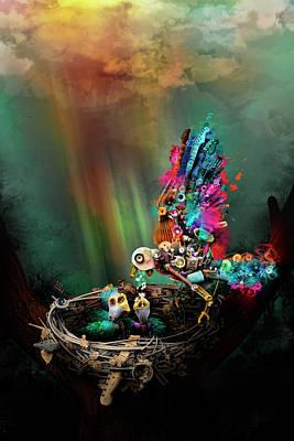 Robert Palmer Mixed Media - Spring by Robert Palmer