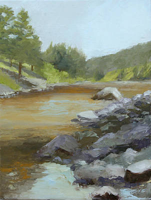 Spring Runoff Print by Janet Fons