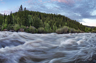 Spring Runoff Print by Leland D Howard