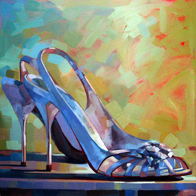 Art Dealer Painting - Spring Shoes by Penelope Moore