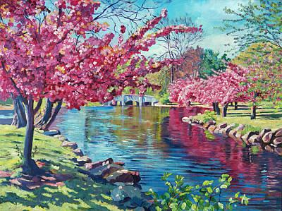 Spring Soliloquy Original by David Lloyd Glover