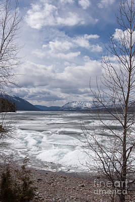 Mountains Photograph - Spring Thaw by Carolyn Brown