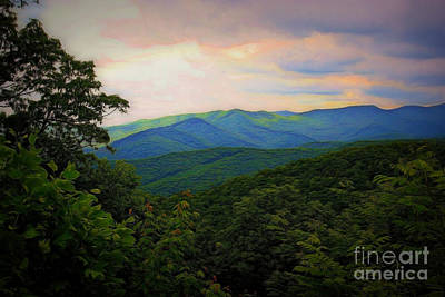 Photograph - Springtime In The Blue Ridge Mountains by Patti Whitten