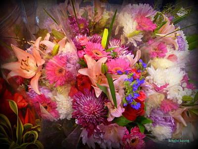 Springtime Bouquet 002 Print by Lingfai Leung