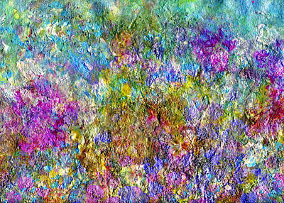 Pearlescent Mixed Media - Springtime by Don  Wright