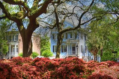 Springtime In Savannah Print by Linda Covino