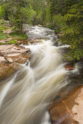 Creek Photograph - Springtime Left Hand Creek Portrait by James BO  Insogna