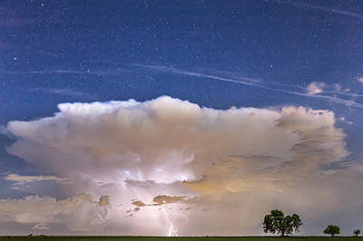Thunderstorm Photograph - Springtime Thunderstorm On The Colorado Plains by James BO  Insogna