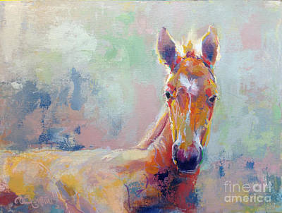 Filly Painting - Sprout by Kimberly Santini
