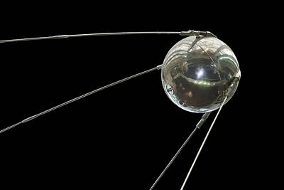 District Of Columbia Photograph - Sputnik, The First Satellite Placed by Mark Thiessen
