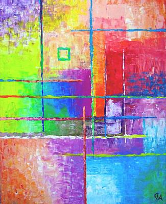Square Print by Jeremy Aiyadurai