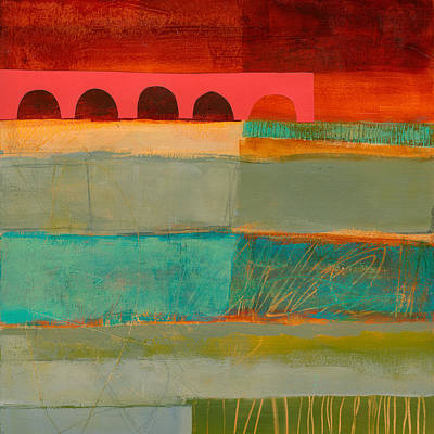 Square Stripes Original by Jane Davies