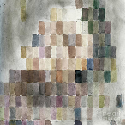 Paul Drawing - Squares Abstract Ccf by Caffrey Fielding