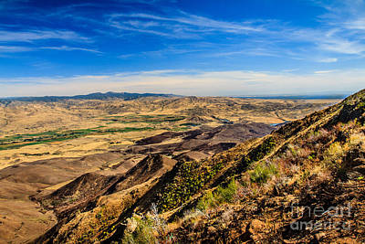 Squaw Butte View Hdr-3 Print by Robert Bales